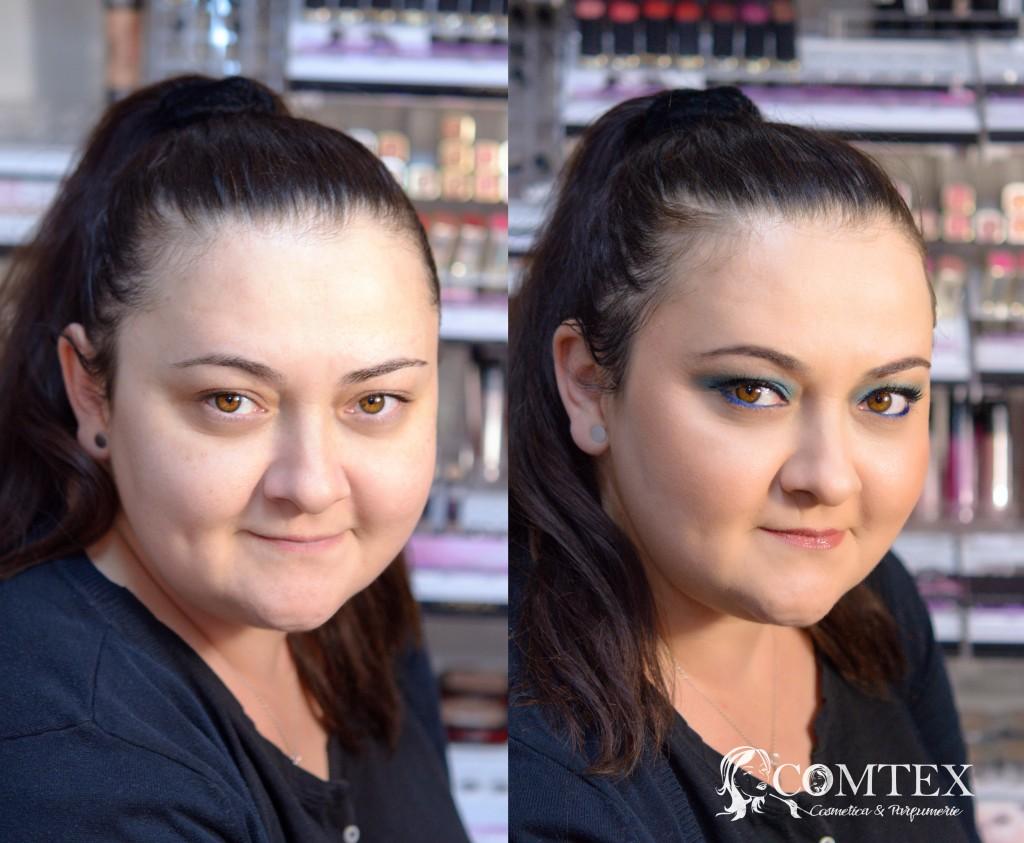 machiaj in magazinul Comtex Cosmetica