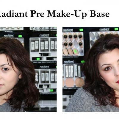 Machiaj cu Radiant Pre Make-Up Base