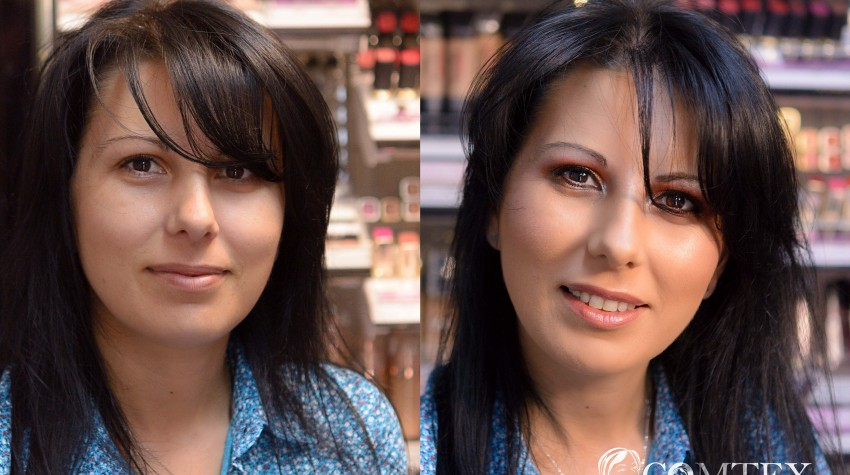 Iulia_foto_inainte_si_dupa_lectia_de_machiaj_in_magazinul_Comtex_Cosmetica_si_Parfumerie